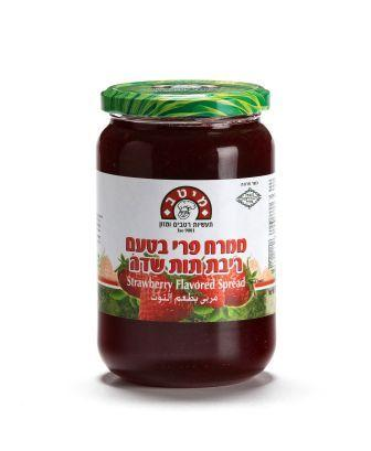 Strawberry flavored spread - 800 gr
